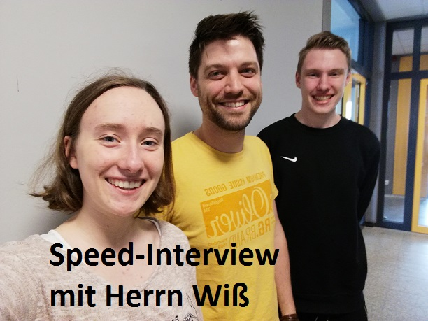 Speed Interview mit Herrn Wi Cover